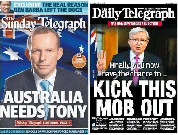 Example of Media creating notions of 'commonsense' during election campaigns. http://www.dailytelegraph.com.au/