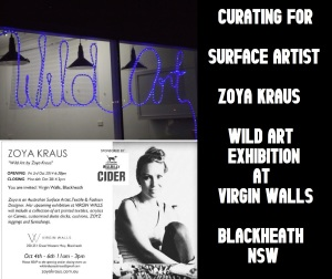 curating in the Blue Mountains