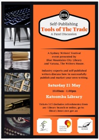 selfpublishing poster katoomba library