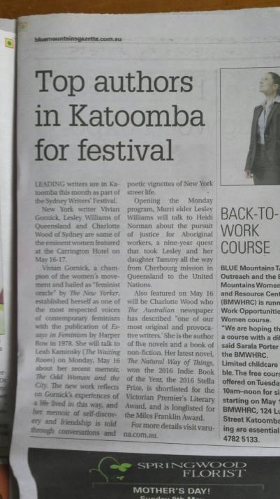 Zoe Wood Creative Katoomba Top Authors Varuna