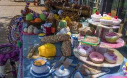springwood spinners & weavers @ the Garden of Earthly delights
